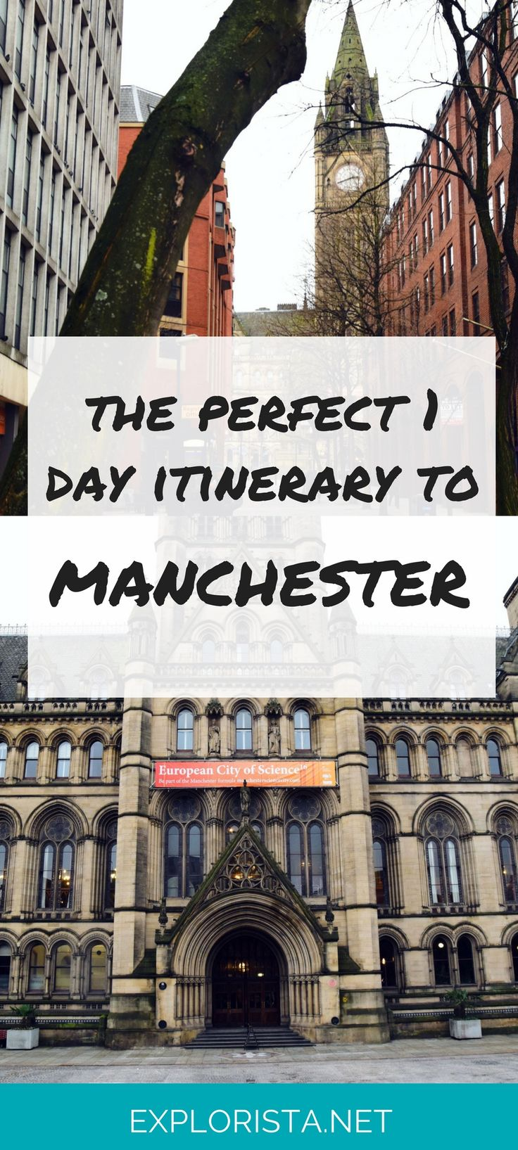 My first day trip took me to Manchester, a surprisingly small city known for it's fun pubs and friendly atmosphere. At only a 2 hr train ride from London, it was the perfect spot to explore in a day!