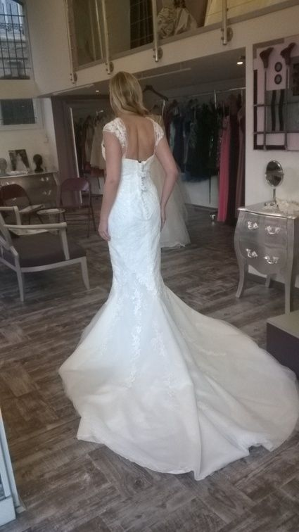 Magnifique robe de mariée San Patrick d'occasion - Garonne (Haute)