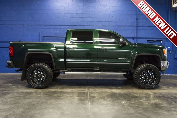 2014 GMC Sierra 1500 SLT 4x4 Truck with BRAND NEW LIFT KIT For Sale at Northwest…