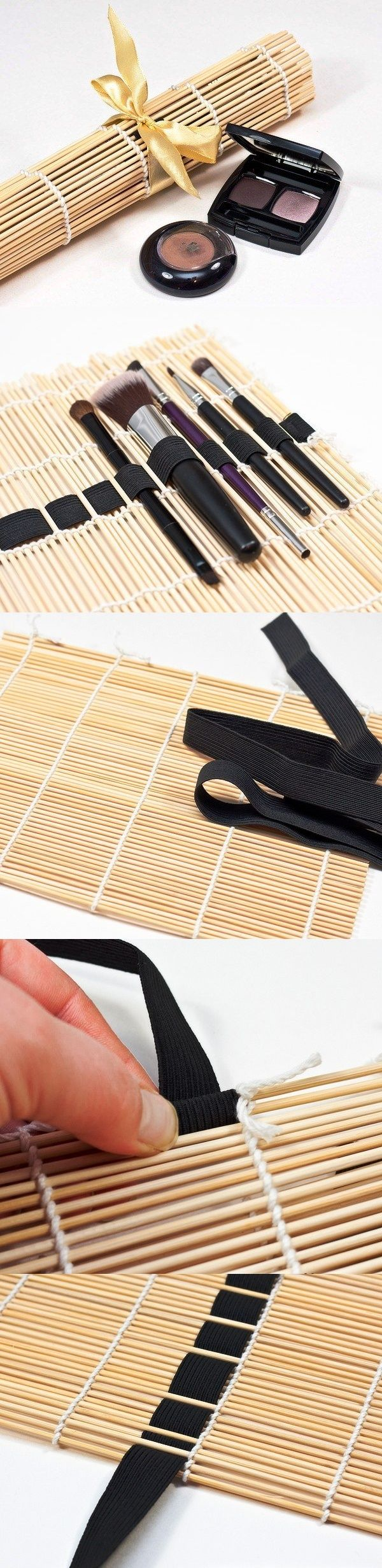 DIY Brush and swab holder