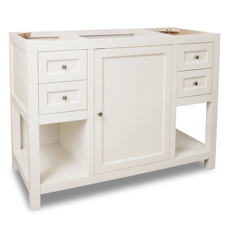Alexander 48 Inch Astoria Cream White Bathroom Vanity Without Top For The Home Pinterest