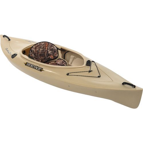"""Heritage Feather Lite Angler 9'6"""" Sit-In Fishing Kayak $269 Lots of room, sit-in, rod holders, and paddle holder"""