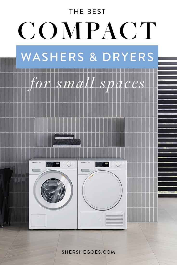 The Best Compact Washer And Dryer For A Small Apartment Compact Washer And Dryer Small Apartment Design Small Room Design