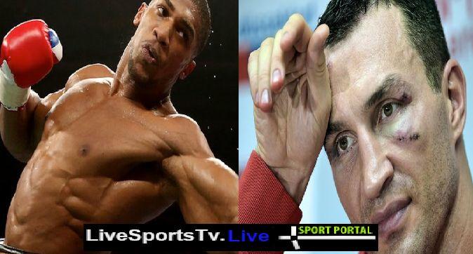 Anthony Joshua vs Wladimir Klitschko Live Stream