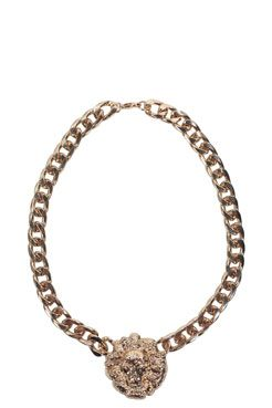 Lara Medallion Chain Necklace