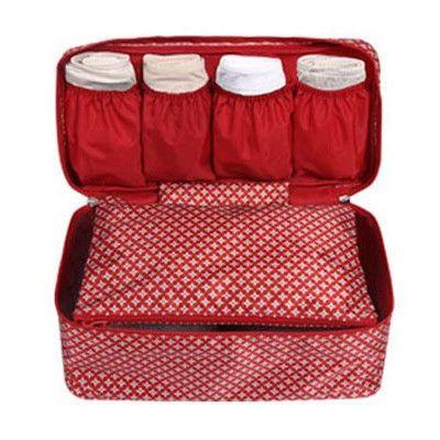 2016 Organizer Floral new sale neceser women makeup bag Bra underwear package Toiletry waterproof wash case