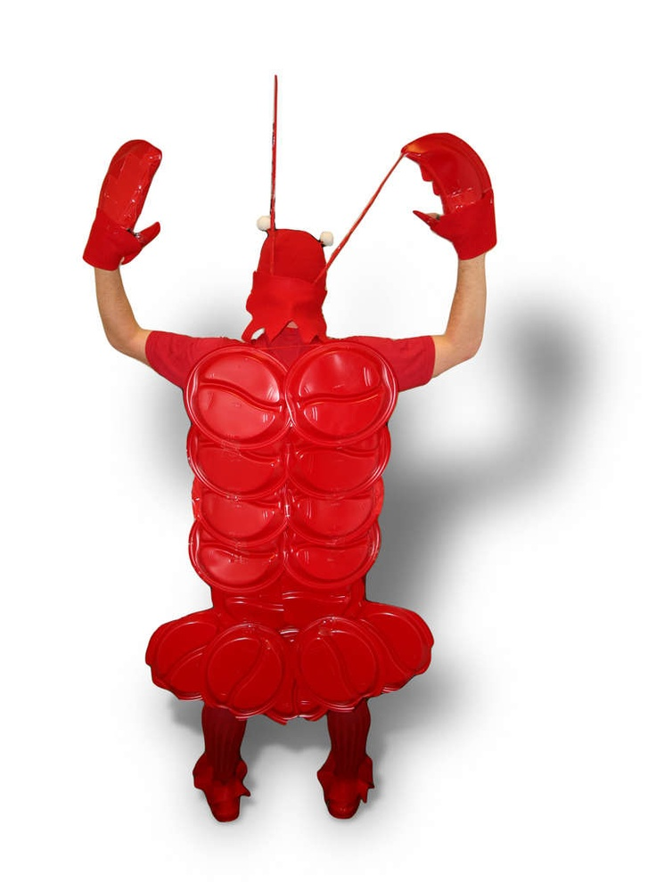 Red solo cup lobster costume!