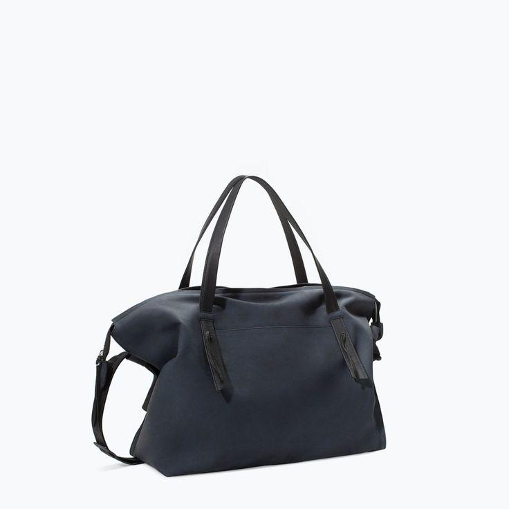 Image 2 of MINIMALIST BOWLING BAG from Zara