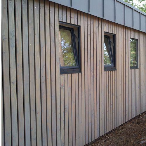 Connu Les 25 meilleures idées de la catégorie Bardage bois vertical sur  IB32
