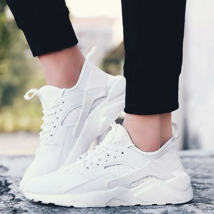 Mesh Air Breathable Men Trainers White