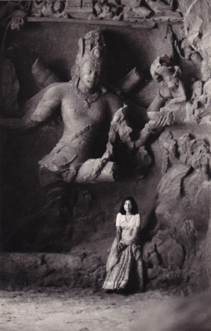 Shiva as The Fierce Protector...at Elephant Caves outside Mumbai