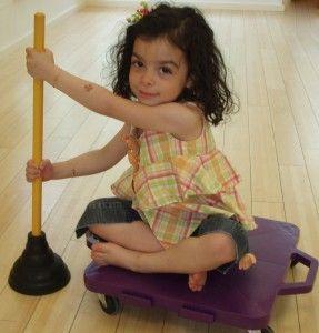 OT ideas: Trunk strength for kids