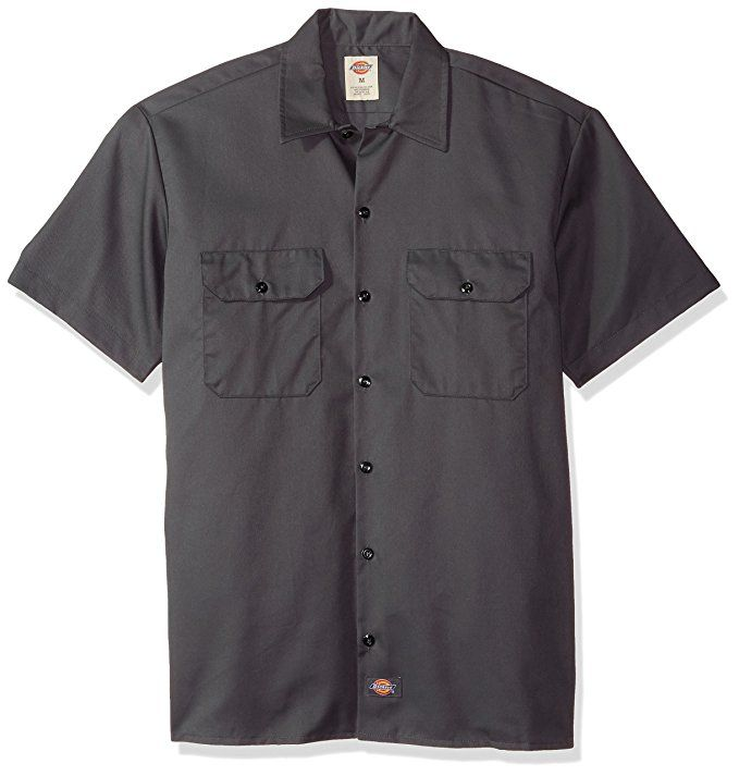 73daff7386a amazon.com  Dickies Men s Big and Tall Short Sleeve Work Shirt