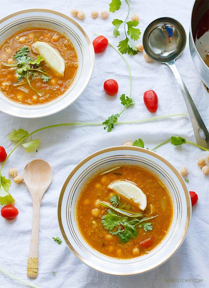 Lentil and Chickpea Soup | Recipe | Chickpea Soup, Lentils and ...