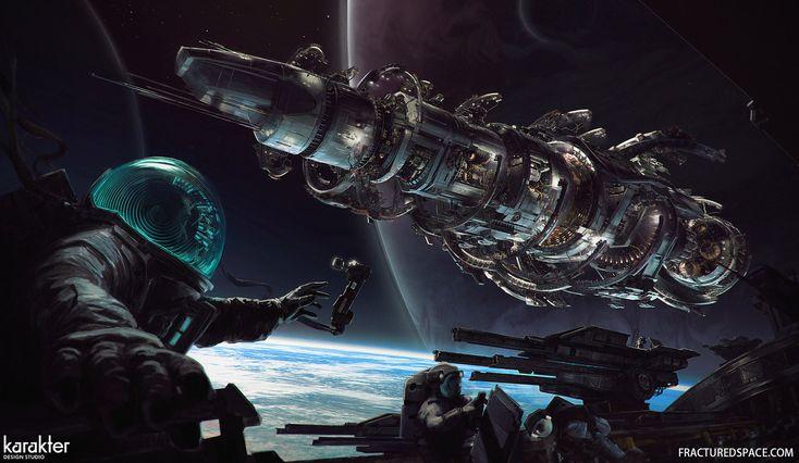 Fractured Space - Edge Case Games, Mike Hill on ArtStation at https://www.artstation.com/artwork/6aEJV