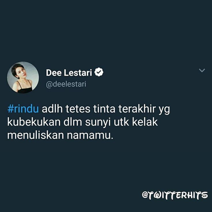 "5,348 Likes, 66 Comments - Dee Lestari (@deelestari) on Instagram: ""Bahkan saya sendiri lupa pernah menuliskan ini . Terima kasih @twitterhits dan @addeection yang…"""