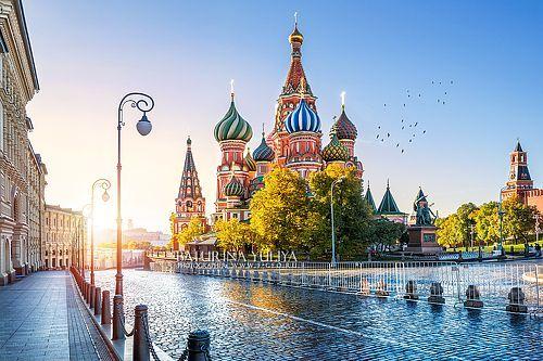 Фотограф Юлия Батурина (Yuliya Baturina) - Собор Василия Блаженного и утреннее солнце #1832812. 35PHOTO