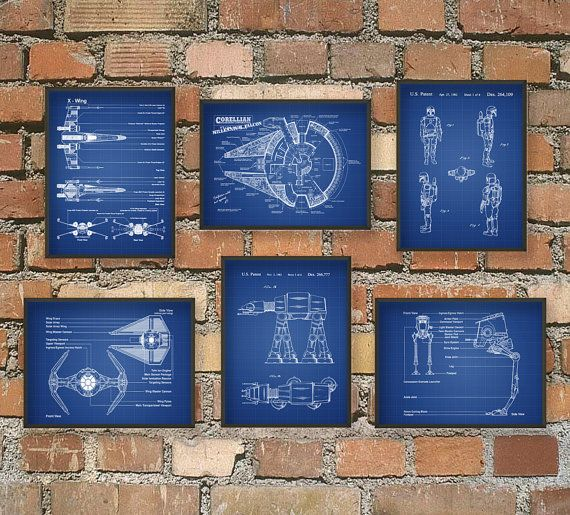 The Ultimate Star Wars Fan Patent Wall Art Poster by QuantumPrints, £22.00