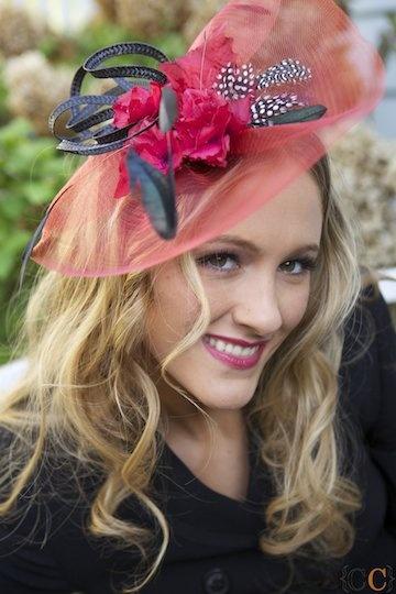 Fascinator Red Wedding Derby Hat  Fascinators First  #thecraftstar: Black Wedding, Derby Hats, Fascinator Hats, Fascinator Red, Wedding Hats, Hat Fascinators