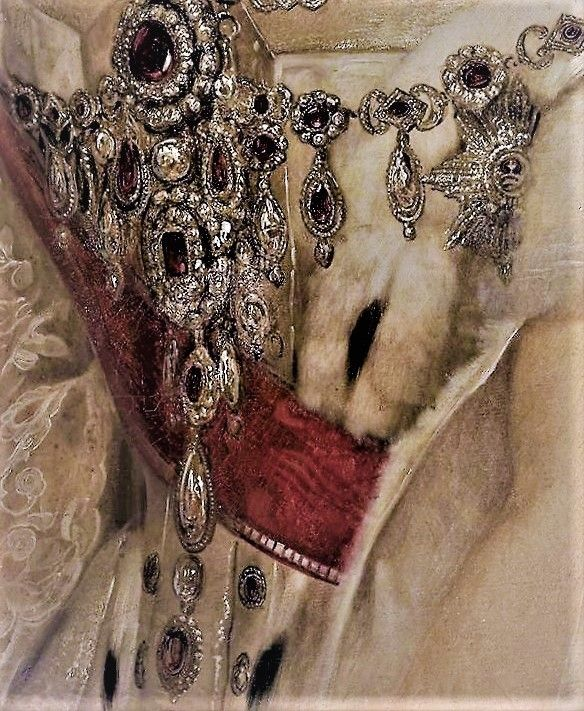Portrait of Anna Pavlovna of Russia, Queen of Holland