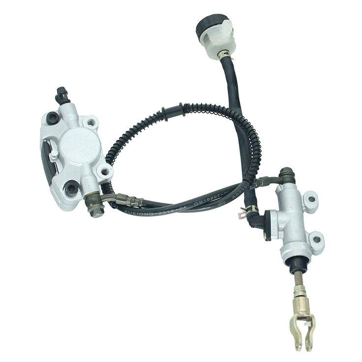 48.90$  Watch now - http://alicbv.shopchina.info/1/go.php?t=32807610789 - Rear Hydraulic Brake Assembly Master Cylinder Caliper With Reservoir For 200cc 250cc ATV Quad Dirt Bike Brake System DS-131-1   #aliexpress