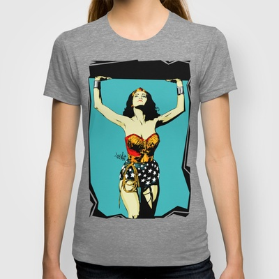Amazonian Wonder T-shirt by Vee Ladwa - $18.00