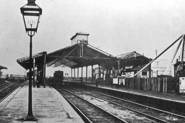 Bridge Street Station, Glasgow (1905). Original Glasgow terminus of services to and from Paisley. - Network Rail