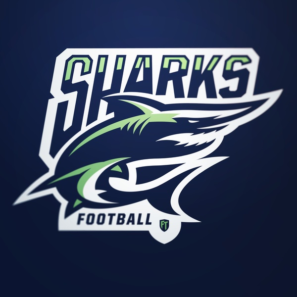 Sharks football logo - photo#8