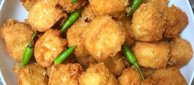 Pin Di Crispy Tofu