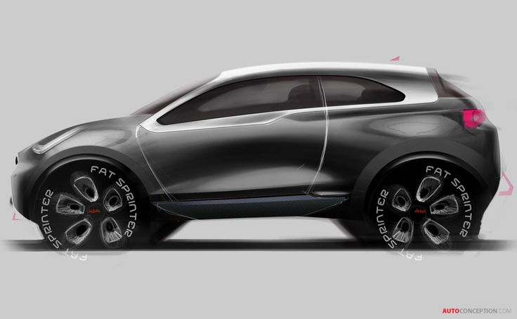 kia niro concept automotive exterior rendering pinterest to be cars and cheated on. Black Bedroom Furniture Sets. Home Design Ideas