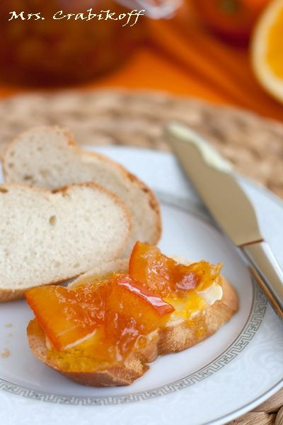 Апельсиновый мармелад с имбирем