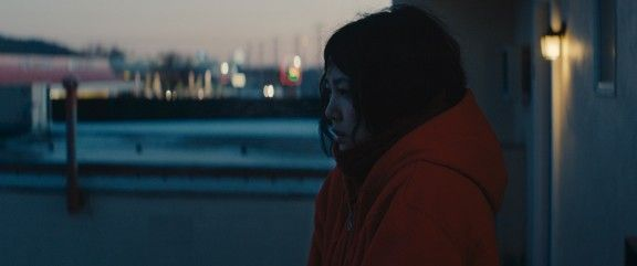 "Beautiful film. Reminds me of Lost in Translation but more fantastical >> Rinko Kikuchi in David Zellner's Kumiko, the Treature Hunter. Photo by Sean Porter. | Sundance Film Festival 2014 | ""Kumiko, the Treasure Hunter is a playfully serious look at the powerful reality of stories."" 