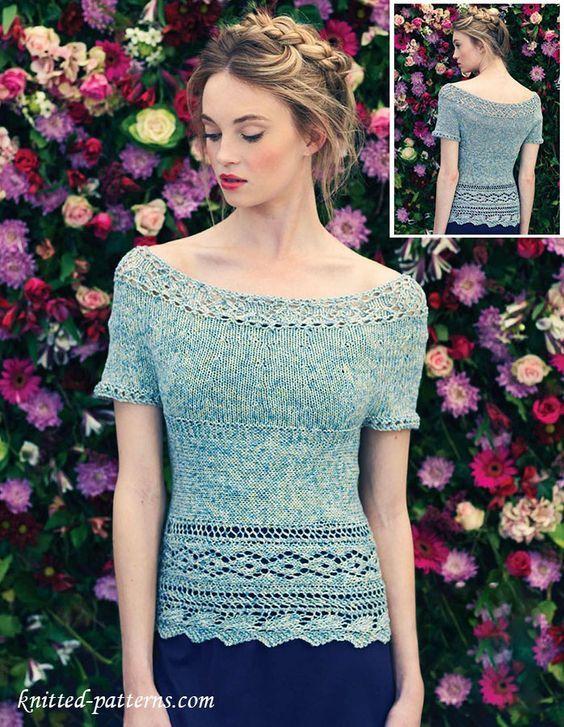 Top knitting pattern free