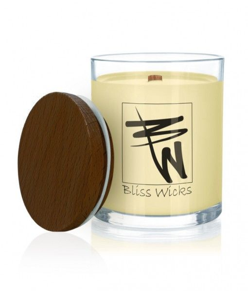 #LindenBlossom (Soy Coco)  Soy coco candle with deeply relaxing scent which has an exquisitely rich, sweet honey and floral aroma with a citrus blend of mandarin, lemon and lime zest.  Price: $17.95–$29.95