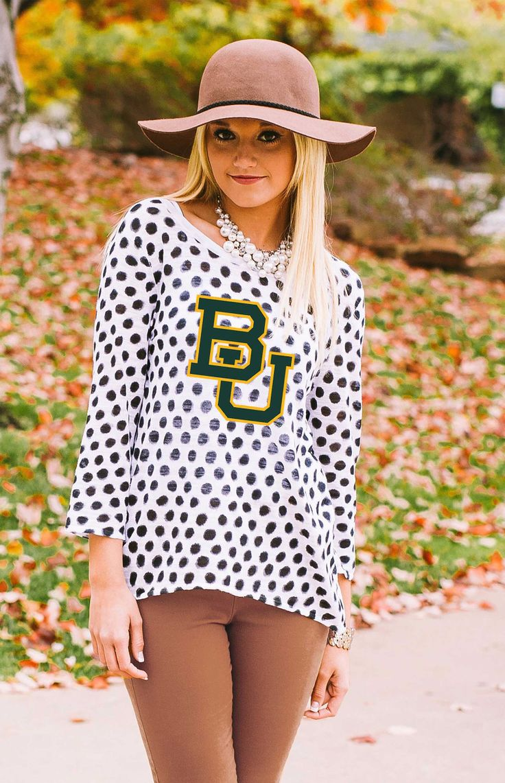 Love the hat, but love the Baylor shirt more! #SicEm!