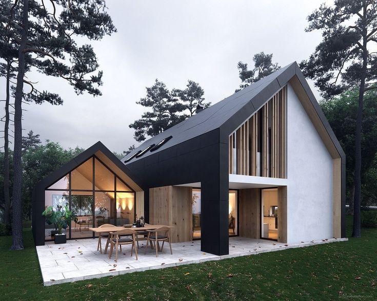 Vielleicht als Fassade zu modern, aber als Säulengang (möglicherweise mit einem Zaun davor