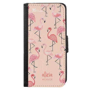 Flamingo Phone Wallet
