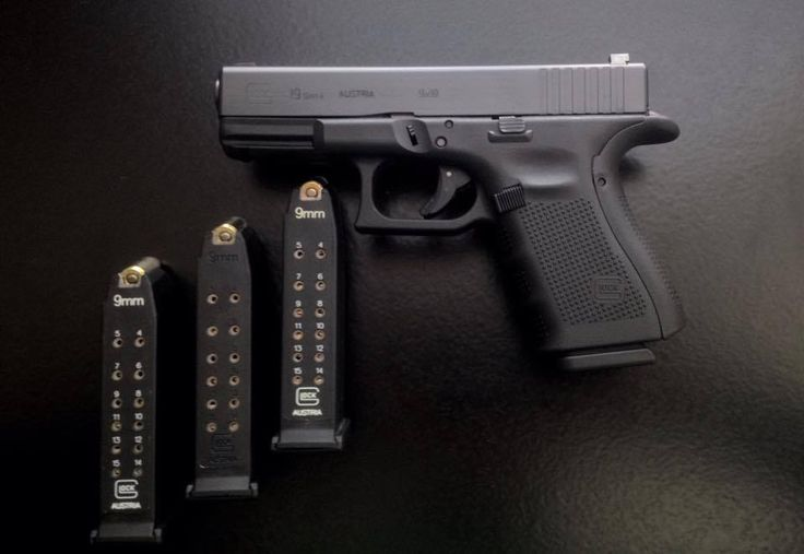 Glock 19 Gen 4. The perfect gun. Oh yes. She will be mine.