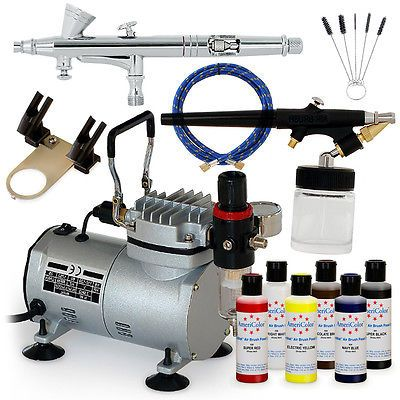 Complete Airbrush Cake Decorating Set : 17 Best ideas about Air Brush Machine on Pinterest ...