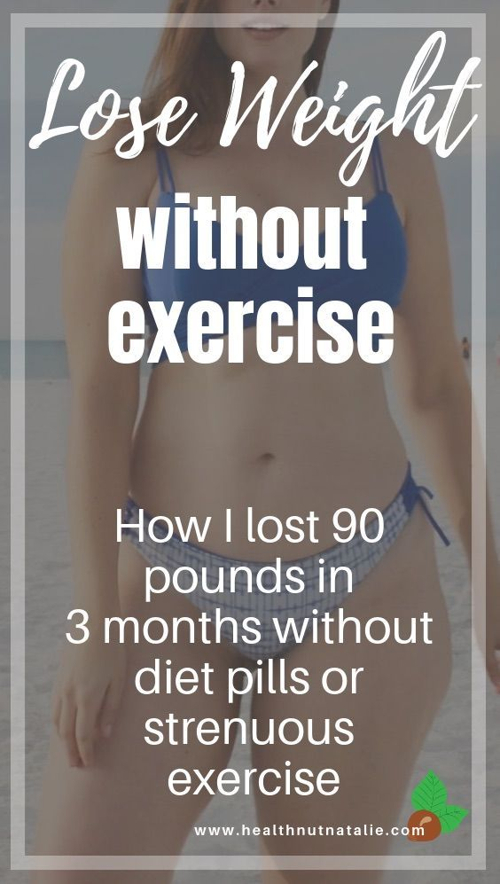 How to lose weight in 3 months without dieting