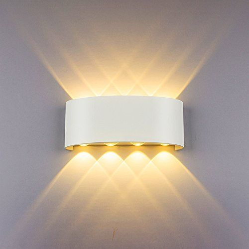 LED Wandleuchte Innen Modern Wandlampe Schlafzimmer Wohnzimmer Treppenhaus Lampe