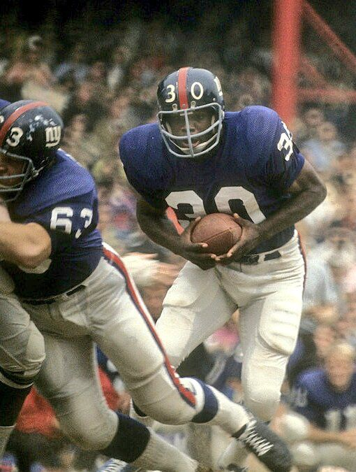Ron Johnson, Running Back drafted 1969 / Round: 1 /Pick: 20 Johnson was traded by the Cleveland Browns (1969) to the New York Giants (1970-75) as part of a multi-player deal that sent Homer Jones to the Browns and Paul Warfield to the Miami Dolphins.