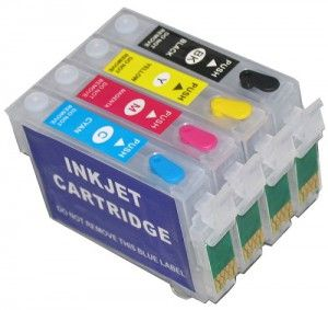 Some of the older cartridge styles hold more ink. The ink may not shake like a liquid in some #InkjetCartridges, since the inkjet ink is saturated into a sponge inside the #inkjet #cartridge.