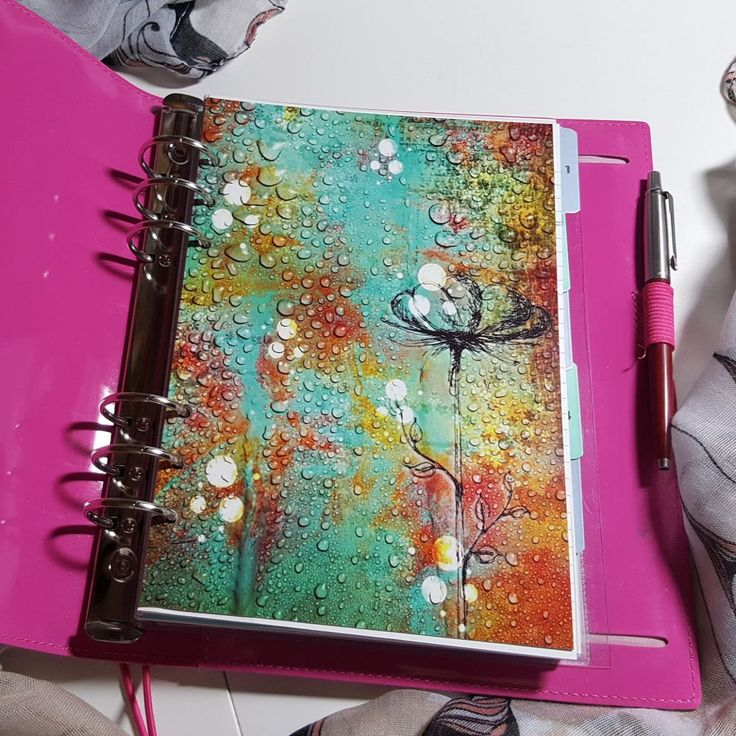 Sketchy Rain A5 Planner Dashboard Ready to go by CarolFleetDesigns on Etsy