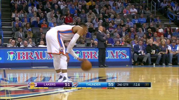 Russell Westbrook notches 28th triple-double against Lakers