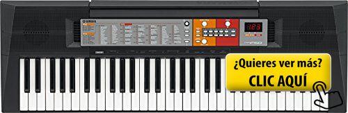 Yamaha PSR-F50 - Teclado electrónico (61 teclas,... #instrumento
