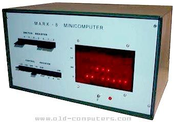 Mark-8  Minicomputer. The Mark-8 was an Intel 8008 / 256 bytes RAM memory based system without neither ROM monitor, power supply, case, video, keyboard, nor backup interface. Consequently, the user had to enter program instructions each time he turned the system on.