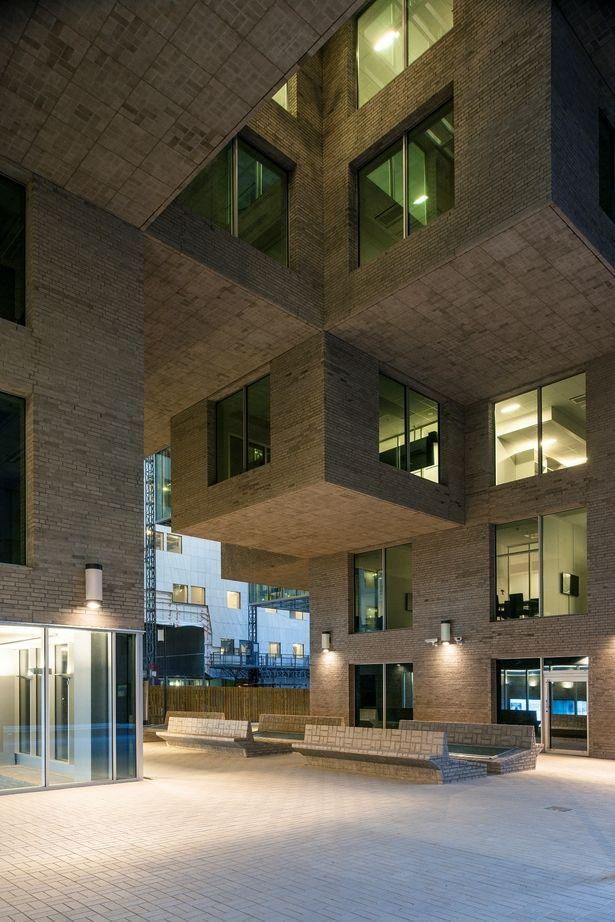 DNB Headquarters - The A-building   MVRDV with Dark Arkitekter AS © Jiri Havran/DNB/Dark Arkitekter/MVRDV   Archinect
