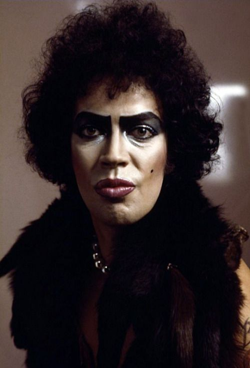 Tim Curry as Dr. Frank N. Furter in Rocky Horror Picture ...