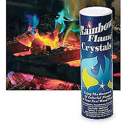 Rainbow Flame Crystals